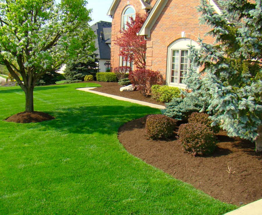 Home And Garden Lawn Care Mulching Service