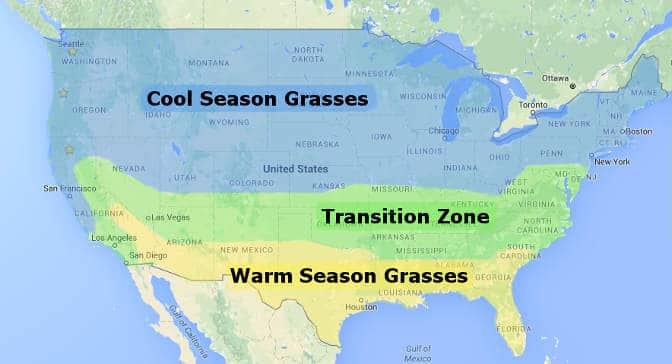 Grass zones