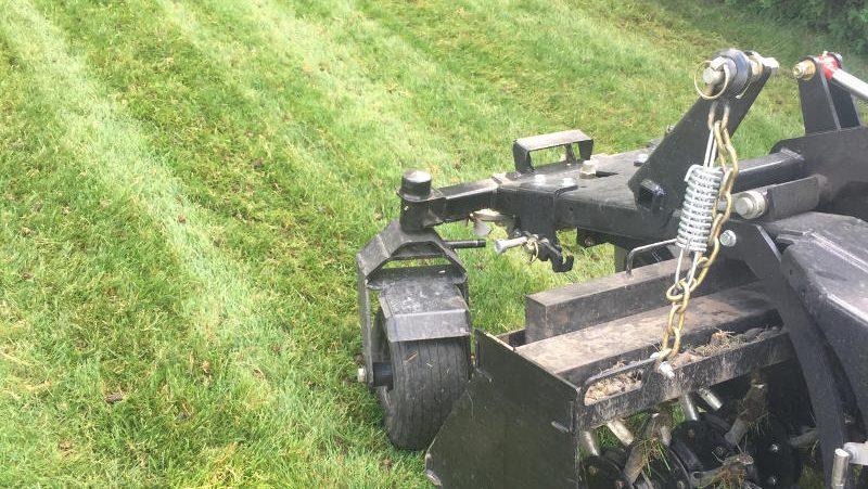 Core aeration machine