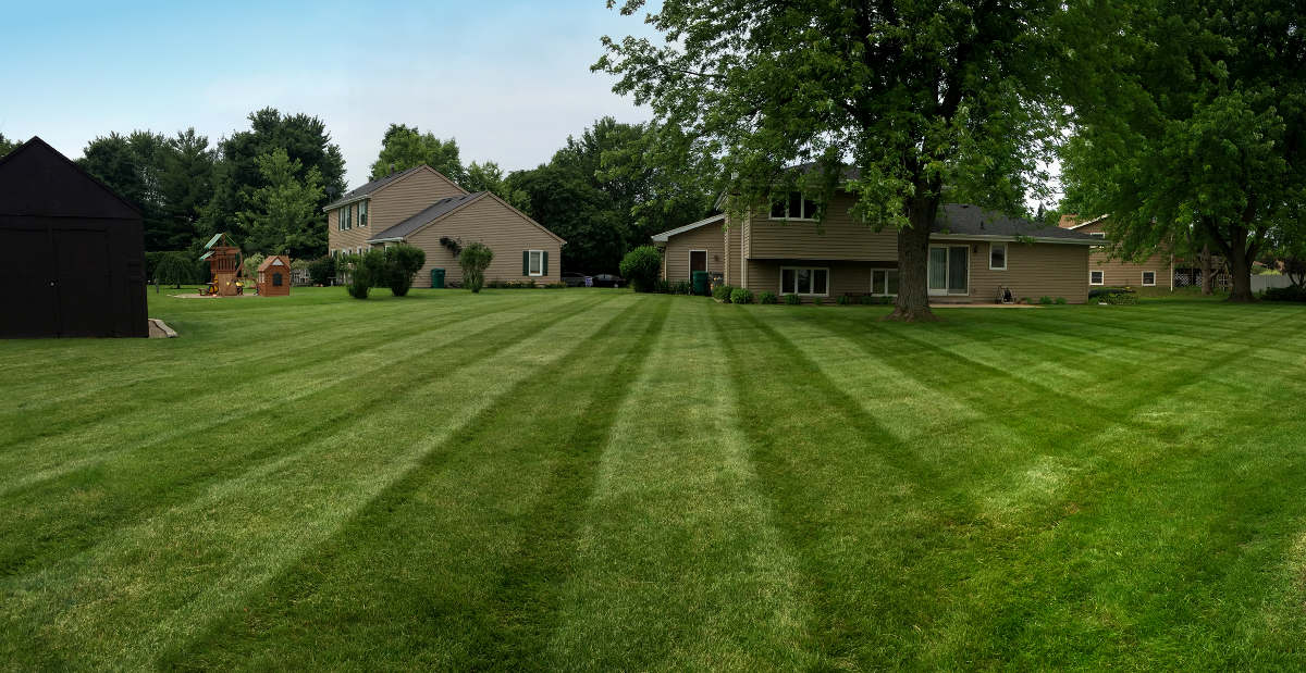Shorewood lawn mowing